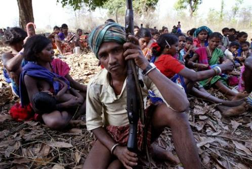 Adivasis and Naxalites